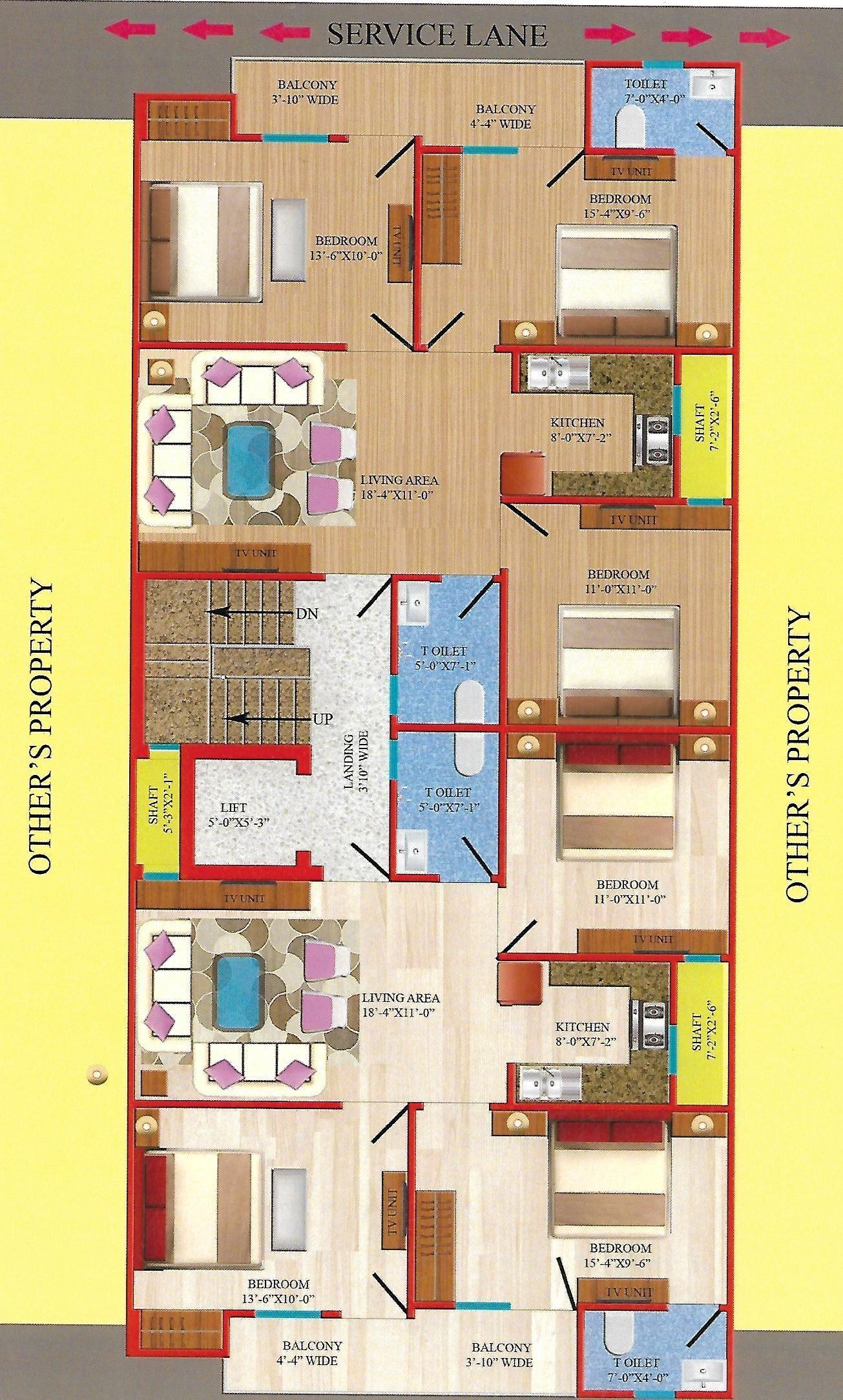 Ashima Builder Floor in Uttam Nagar