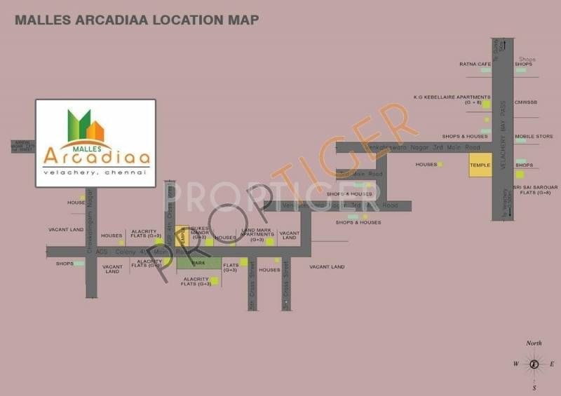 Images for Location Plan of Malles Arcadiaa