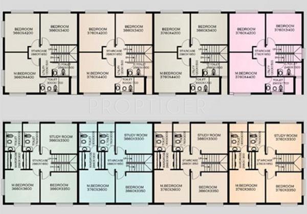 Images for Cluster Plan of BSCPL Bollineni Hillside