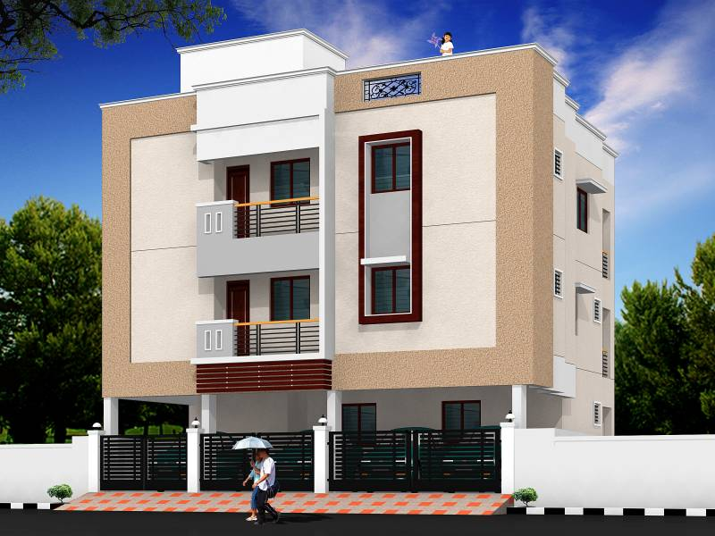 Images for Elevation of Jeiram Sri Sha Enclave