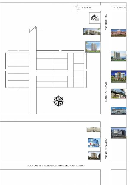 Images for Location Plan of Parmanad Vaishnao Enclave