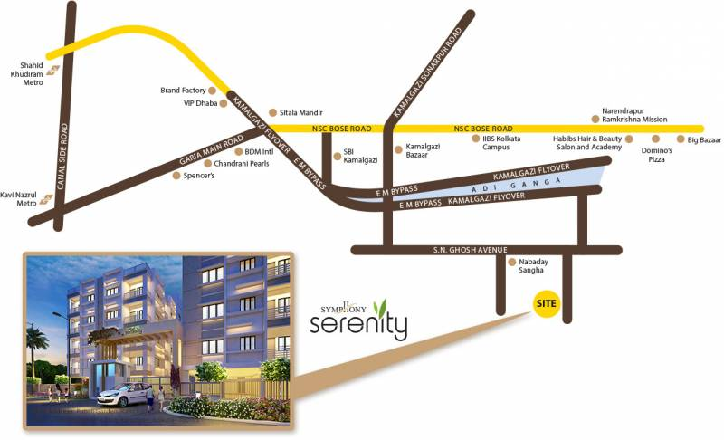 Images for Location Plan of Symphony Serenity