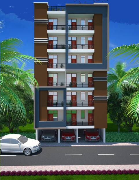 Images for Elevation of Om Sai Sai Ram Homes II