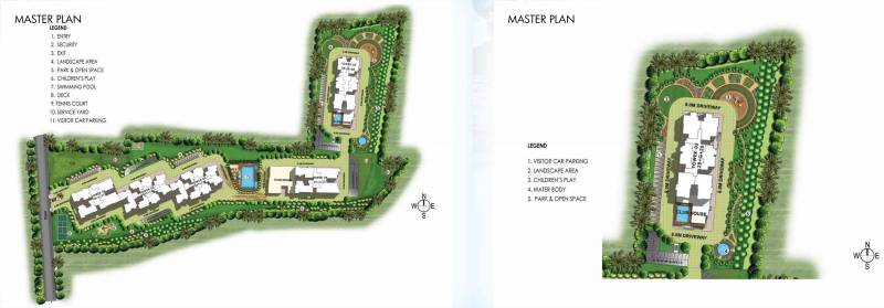 Images for Master Plan of Prestige Misty Waters Vista Tower
