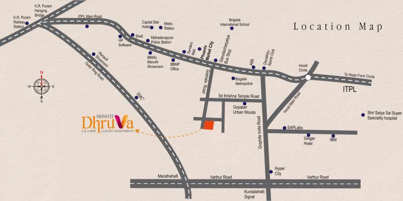 Images for Location Plan of Srishti Dhruva