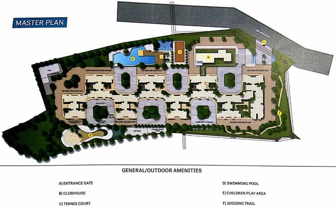 Images for Master Plan of Sobha Lake Garden