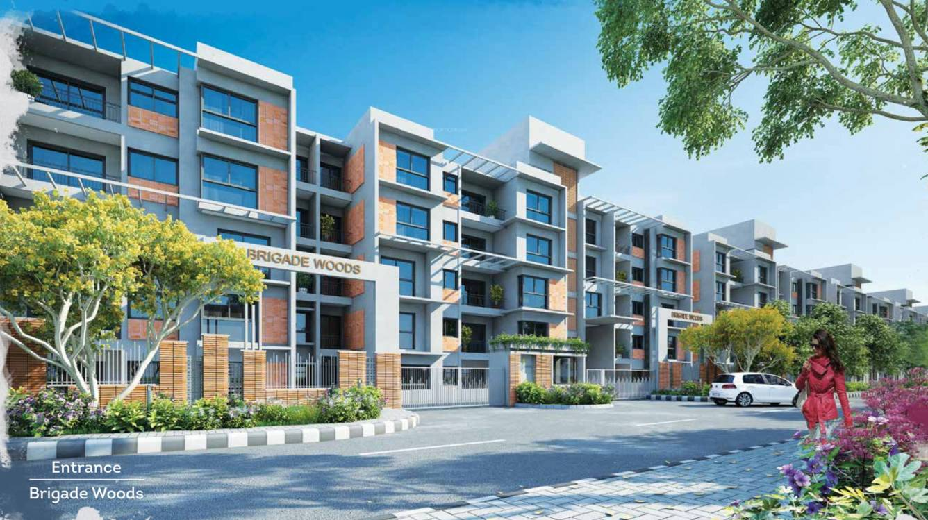 Wood Elevation Network : Brigade woods in itpl bangalore price location map