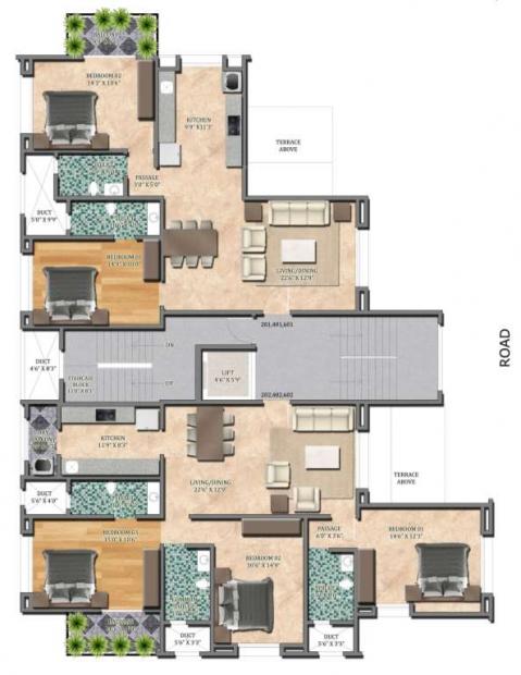 Images for Cluster Plan of Grafikon Collina Casa