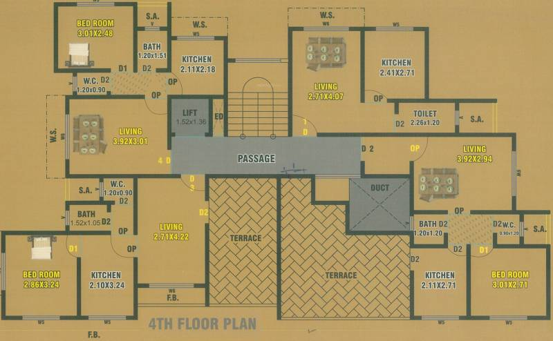 Images for Cluster Plan of Shivam Palace