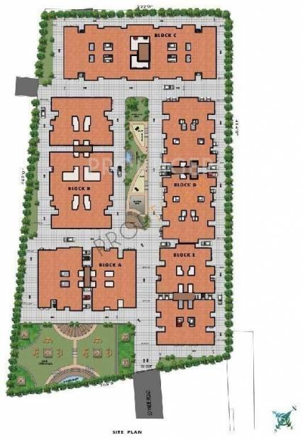 Images for Site Plan of Sidharth Foundations And Housing Dakshin