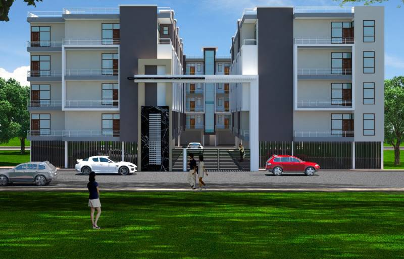 Images for Elevation of  Green View Apartment