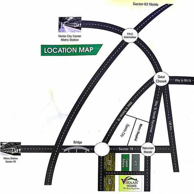 Images for Location Plan of AV Vihaan Homes
