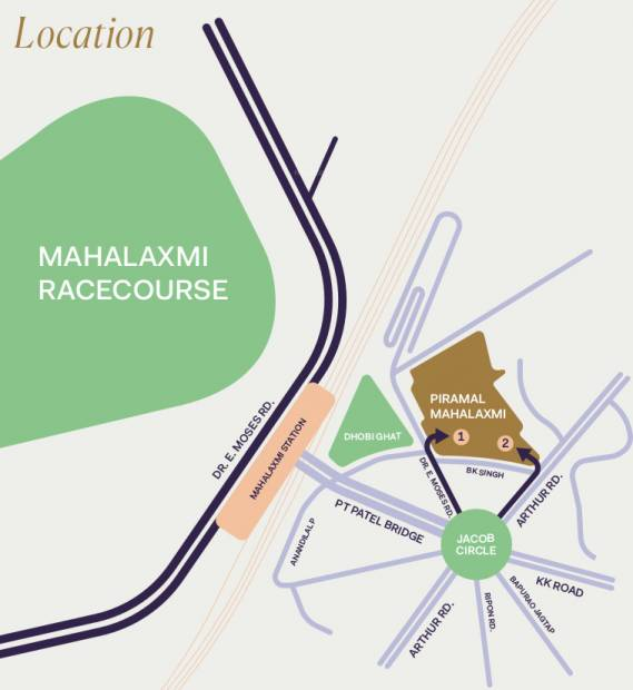 Images for Location Plan of Piramal Mahalaxmi Central Tower 2