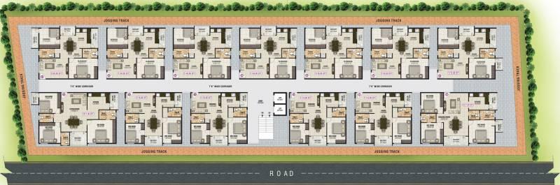 Images for Cluster Plan of Sai Mounika Park Vesta