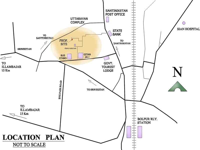 Images for Location Plan of Mona Indira Apartment