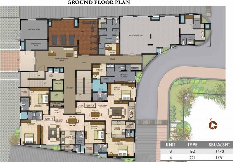 Images for Cluster Plan of Prestige Botanique