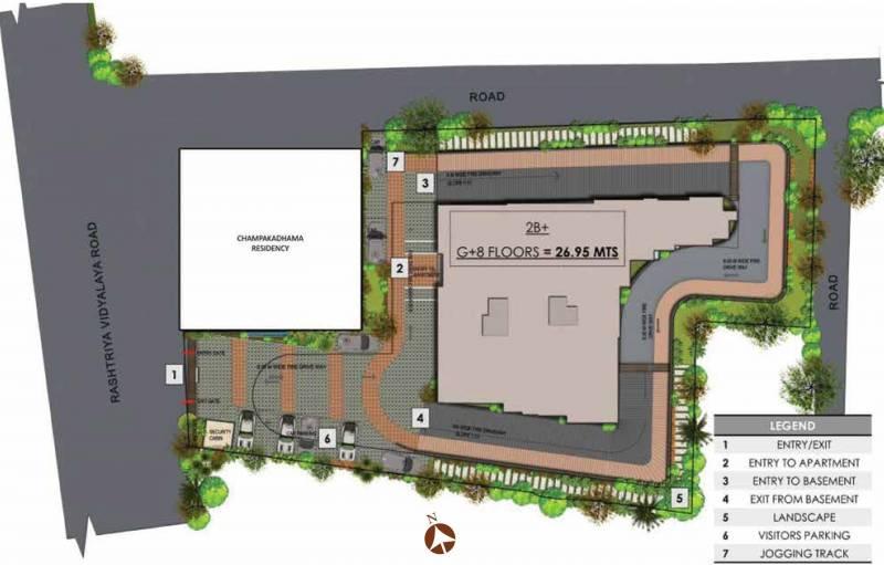 Images for Layout Plan of Prestige Botanique