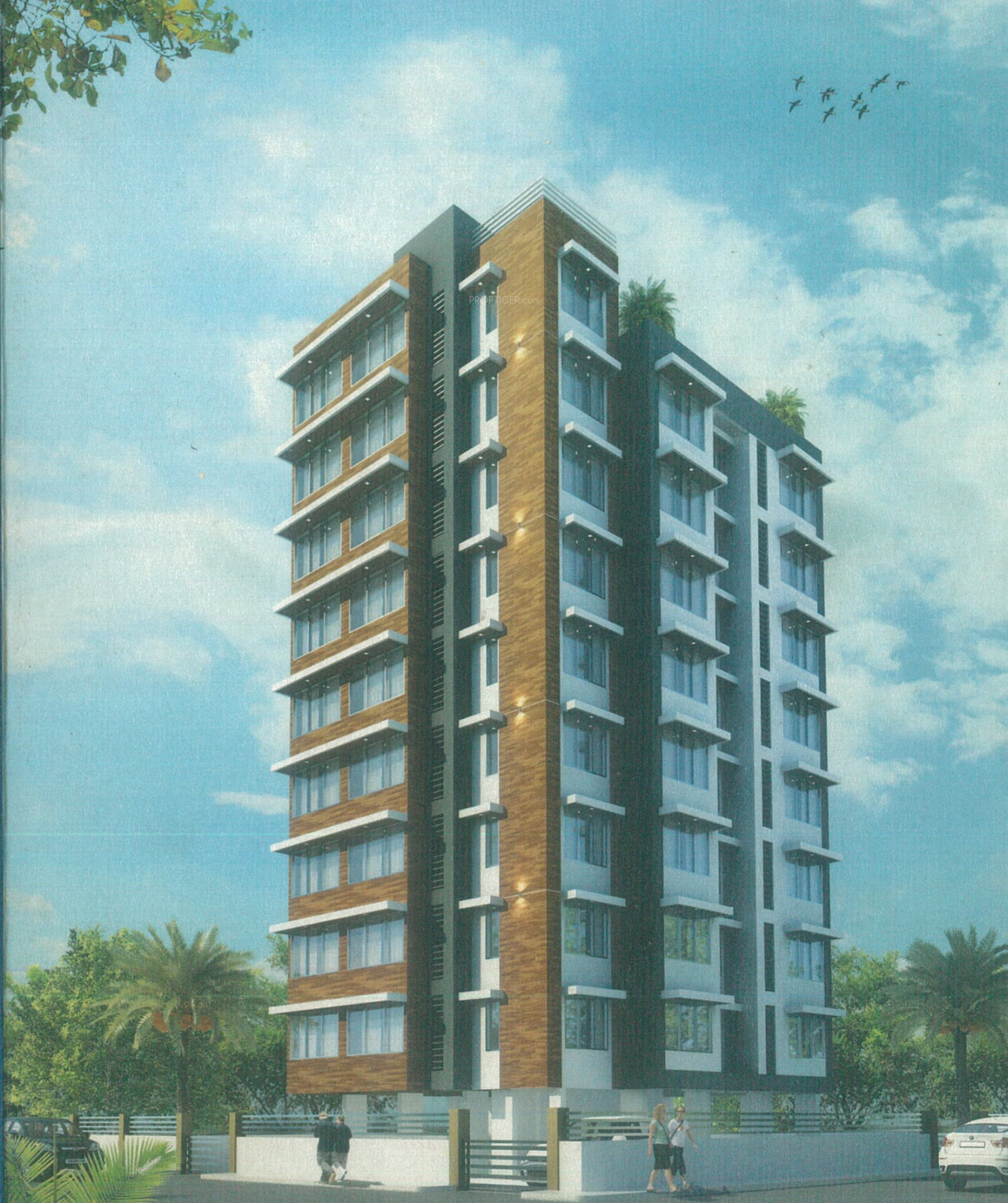 1000 Sq Ft 2 BHK 2T Apartment For Sale In Vaishali