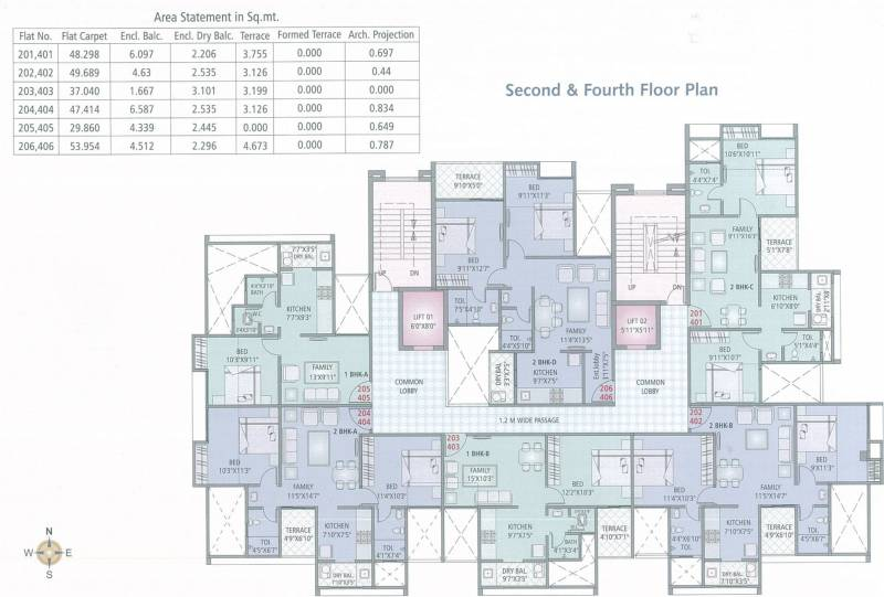 Images for Cluster Plan of Pride Galaxy Apartment