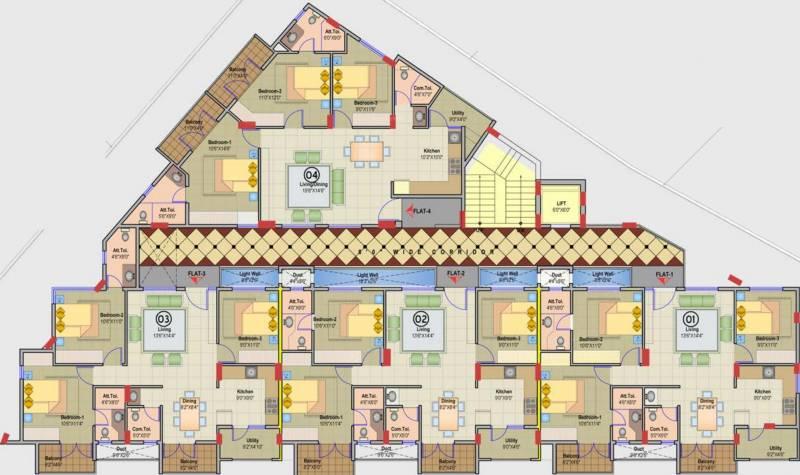 Images for Cluster Plan of JR Suvarna