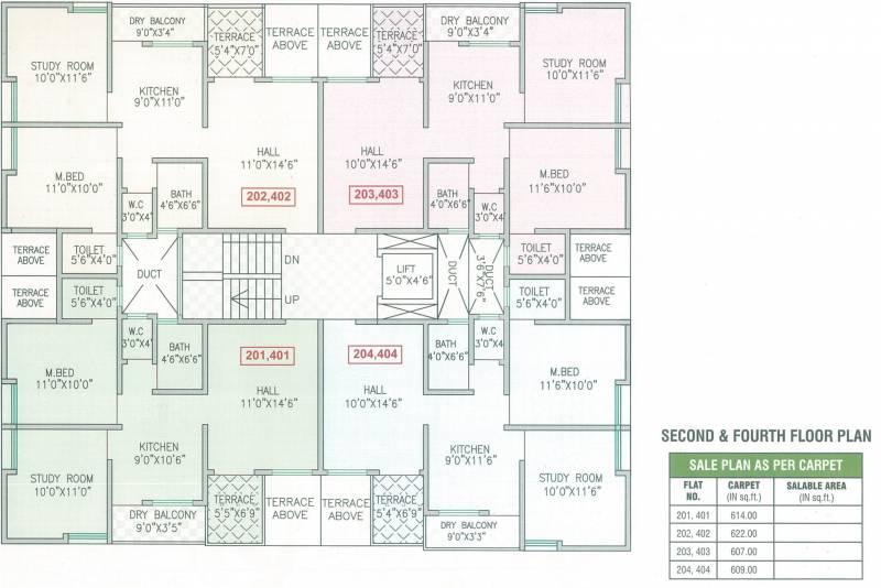 Images for Cluster Plan of Vastuspace Swapnashilpa Heights