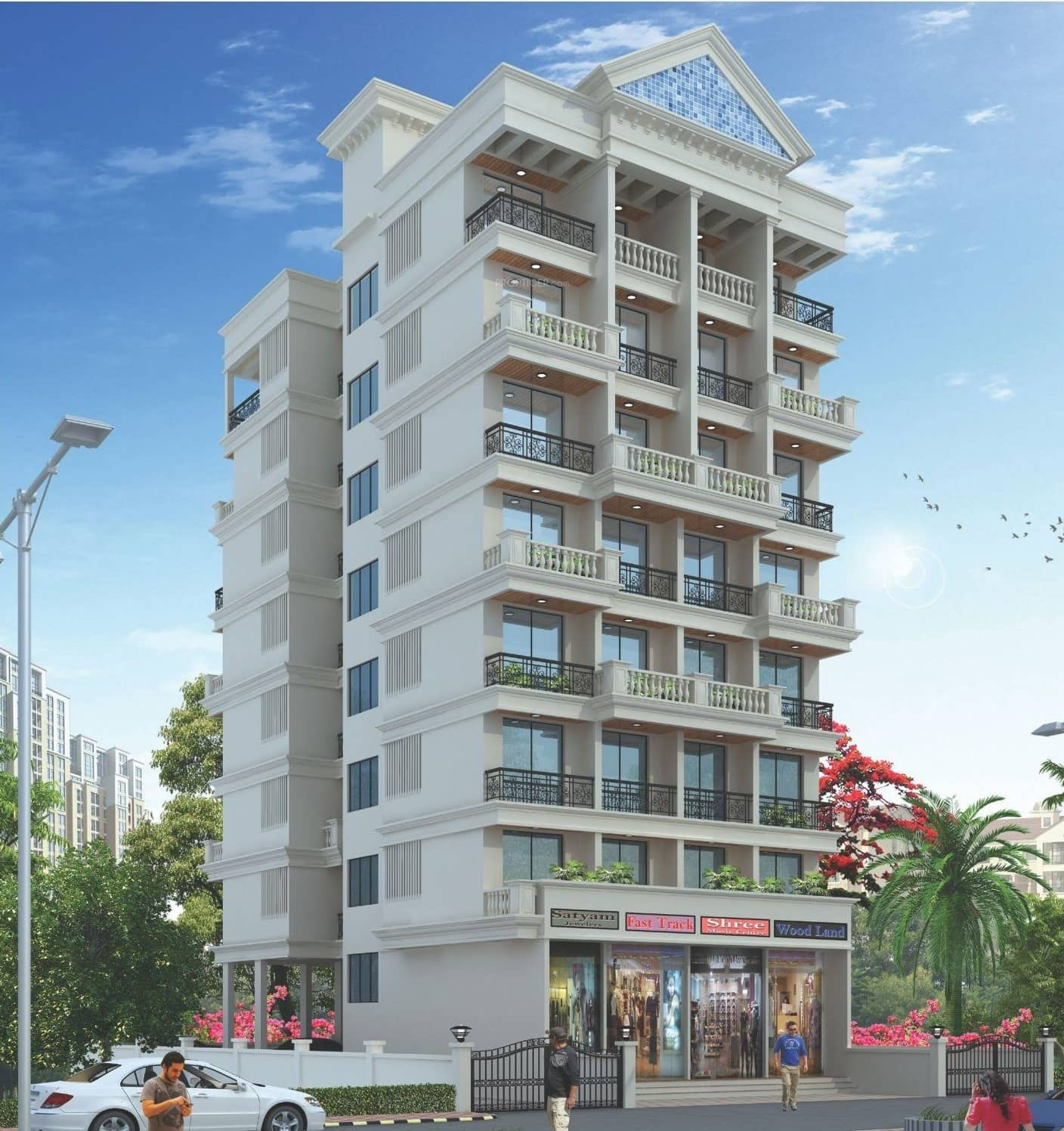 243 Sq Ft 1 BHK 1T Apartment For Sale In Omcon Real Estate