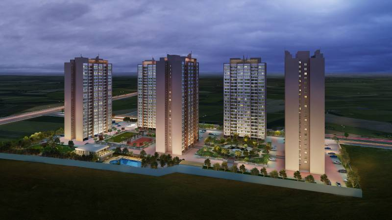 Images for Elevation of Kolte Patil Life Republic ORO Avenue