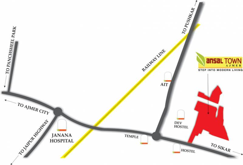 Images for Location Plan of Ansal Town Alwar Phase II