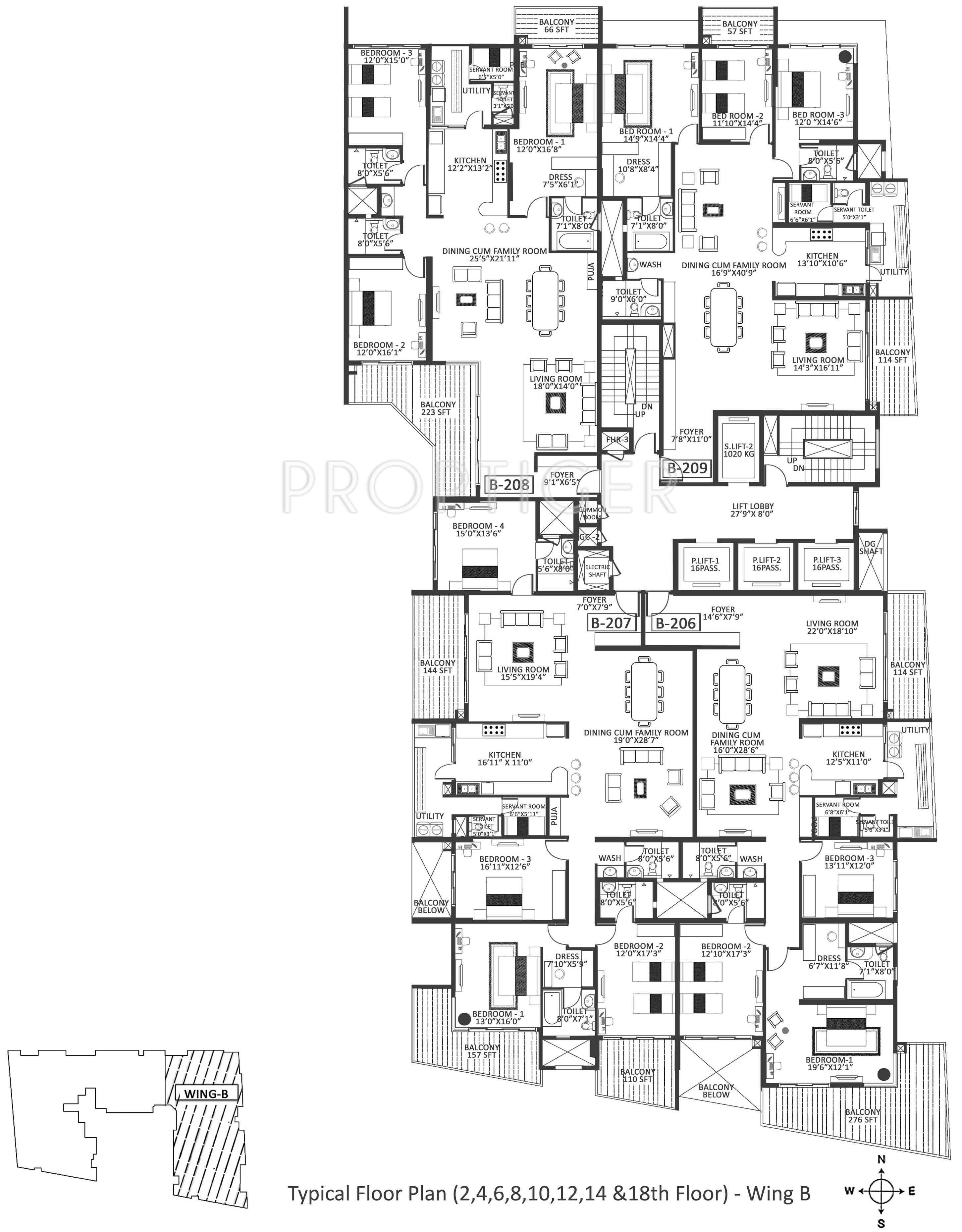 2927 Sq Ft 3 Bhk 3t Apartment For Sale In Godrej Properties Platinum Gas Wiring Diagram Stove Whirlpool Sf 3300 More Photos