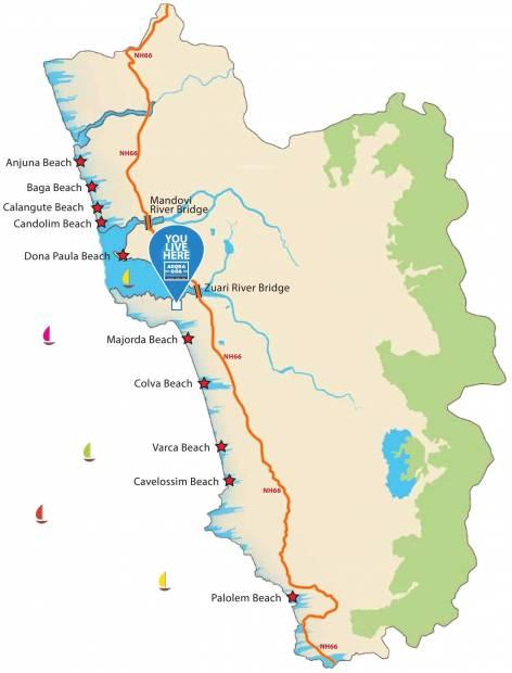 Images for Location Plan of Provident Adora De Goa 6