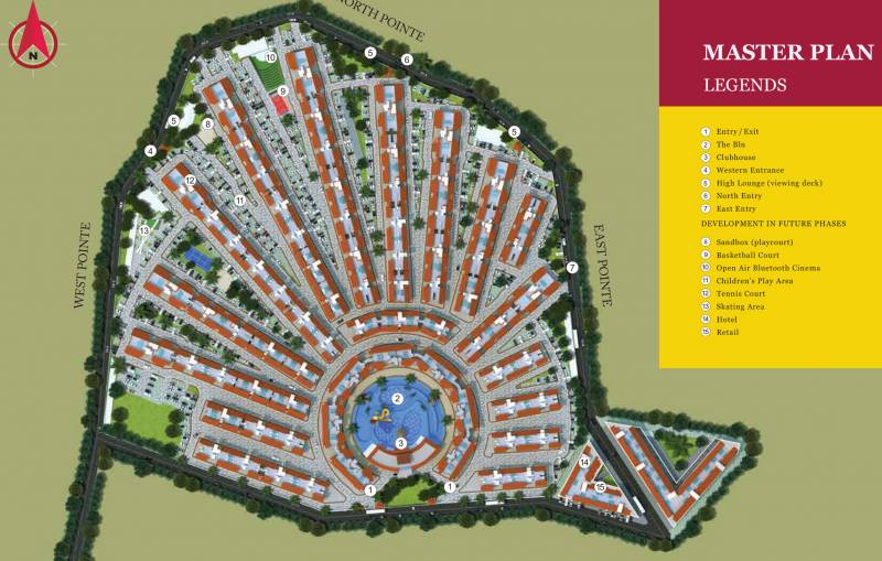 Images for Master Plan of Provident Adora De Goa 6