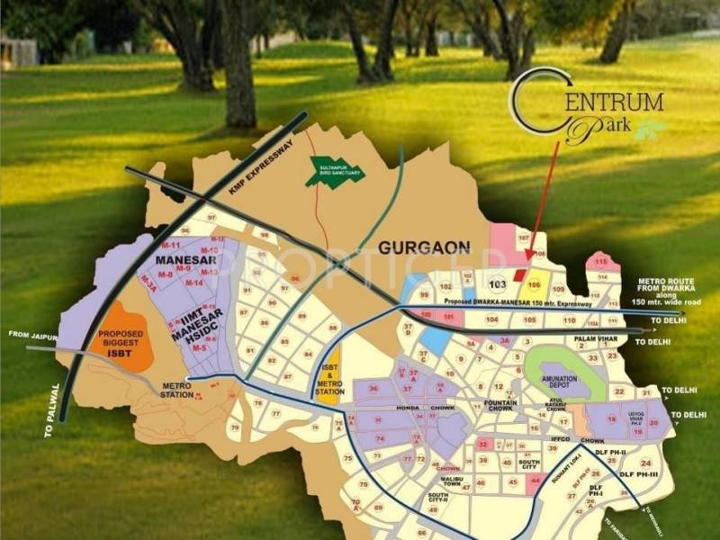 Images for Location Plan of Indiabulls Centrum Park
