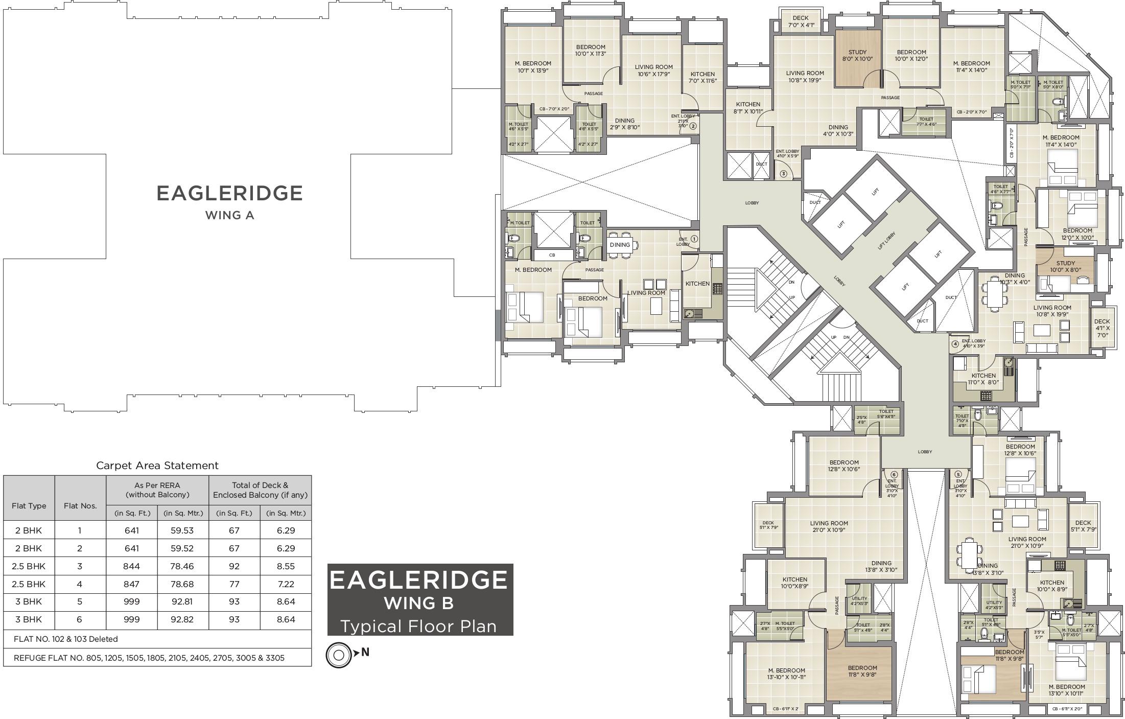 Hiranandani Eagleridge Wing B In Thane West Mumbai Price Location Map Floor Plan Reviews Proptiger Com