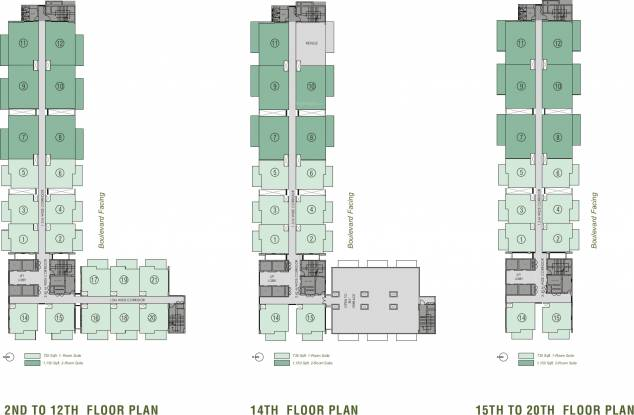Images for Cluster Plan of Viridian The Longevity Project At Plaza 106