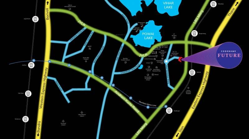 Images for Layout Plan of Kanakia Powai Phase II