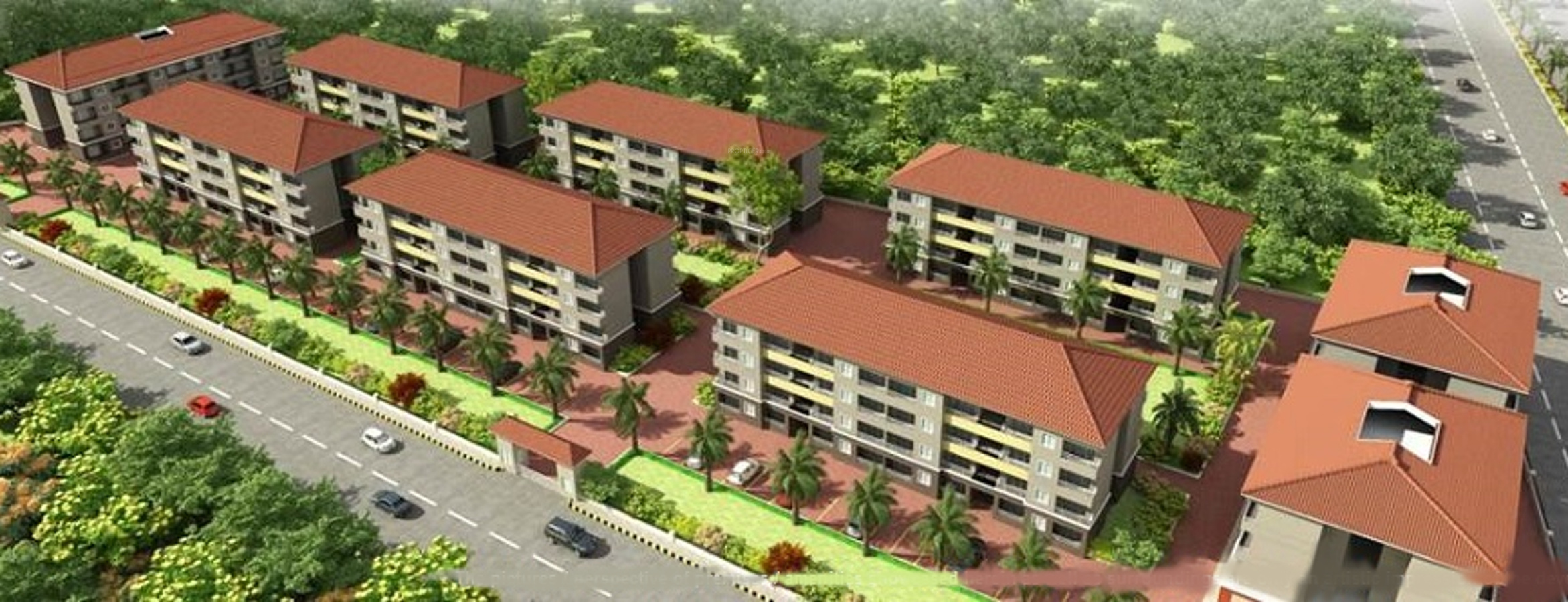 515 sq ft 1 BHK 1T Apartment for Sale in Consortexe Properties