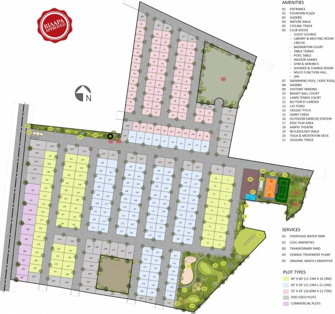 Images for Master Plan of Jain Rain Forest