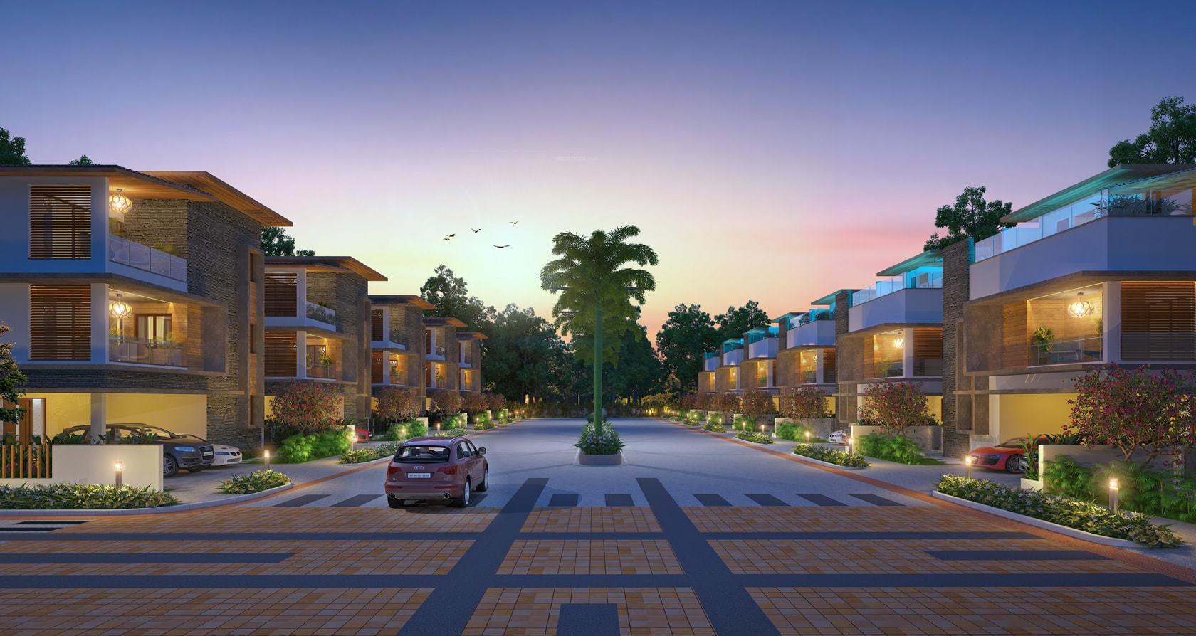 Luxury House in Hyderabad - Buy Luxury Independent Villas