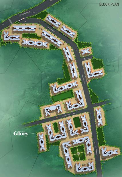 Images for Layout Plan of Parshv Glory