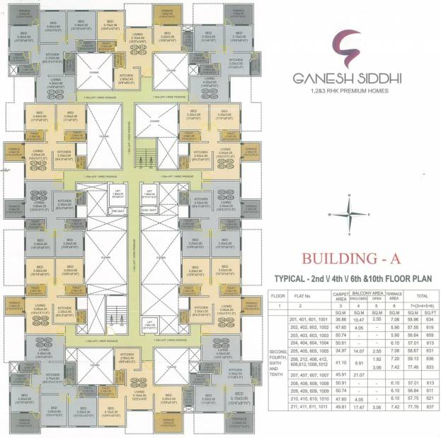Images for Cluster Plan of Ganesh Siddhi A Wing