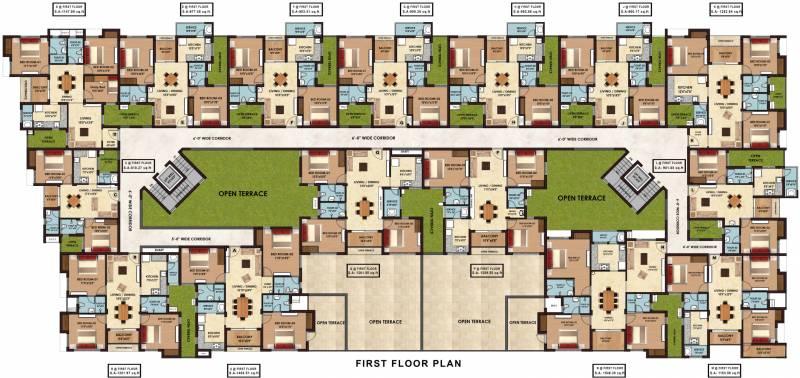 Images for Cluster Plan of Sristi Divinity