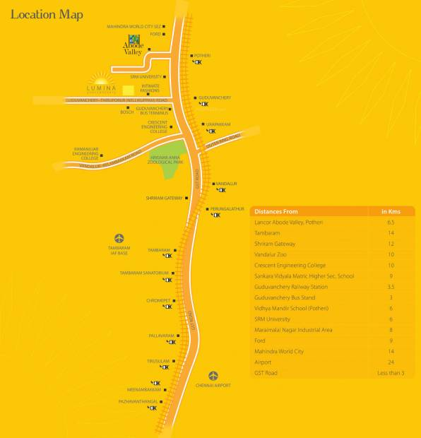 Images for Location Plan of Lancor Lumina 2020