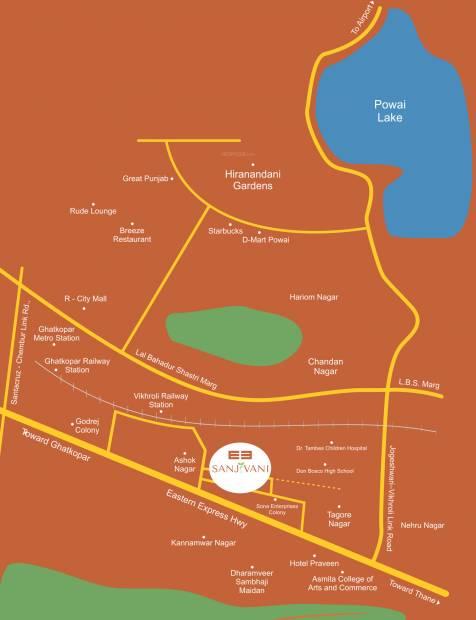 Images for Location Plan of Puneet Sanjivani Phase 3 Floor 21 To Floor 23