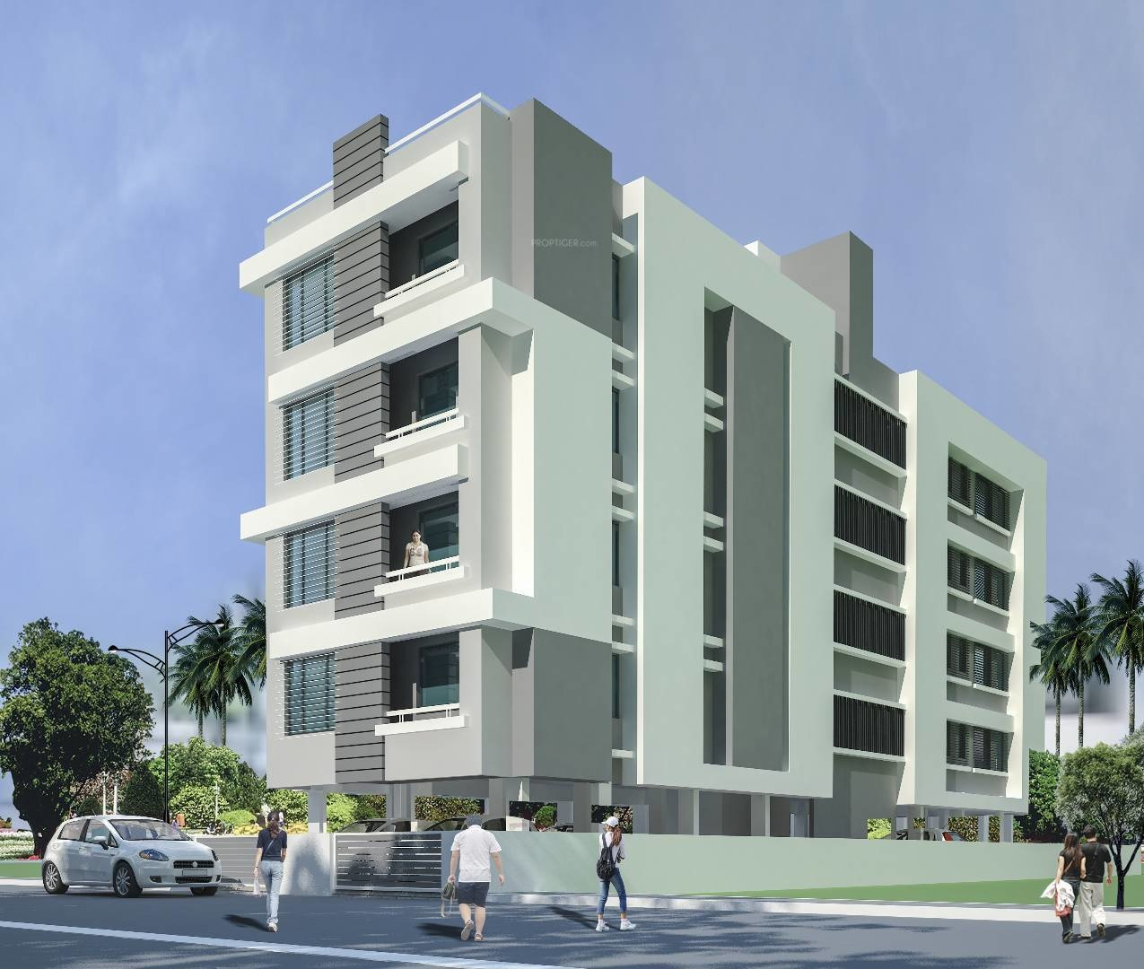 Main Elevation Image of Rishi Builders And Developers Laxmis