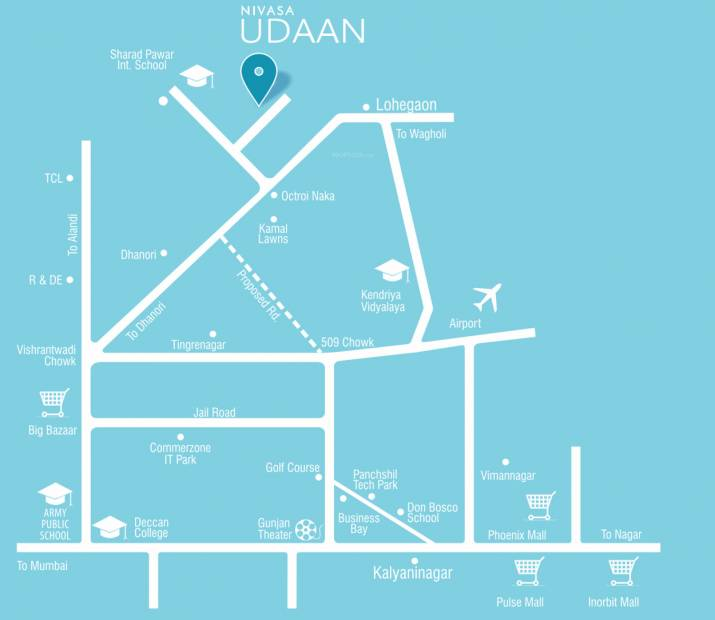 Images for Location Plan of Nivasa Udaan Phase II