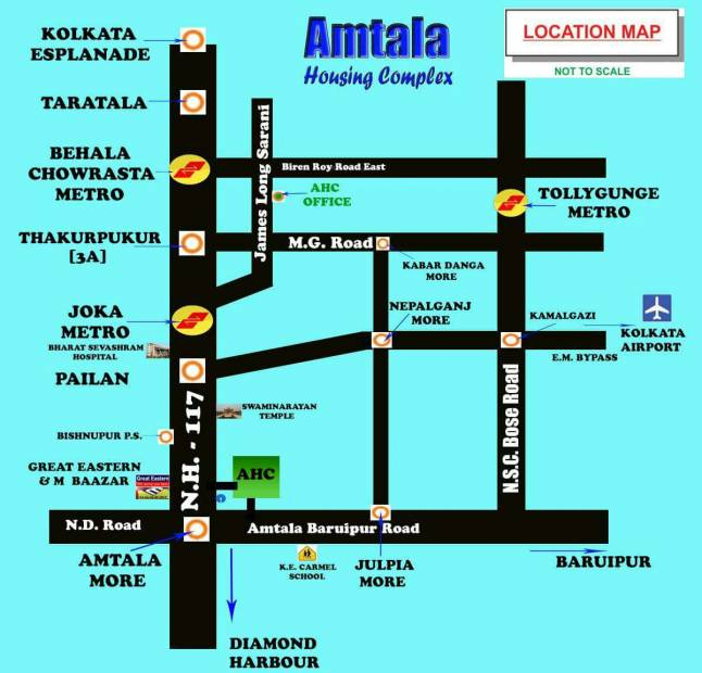 Images for Location Plan of Manafuli Amtala Housing Complex