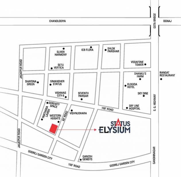 Images for Location Plan of Status Elysium
