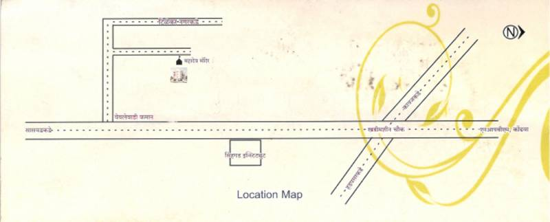 Images for Location Plan of Shrushti Sarthak Paradise