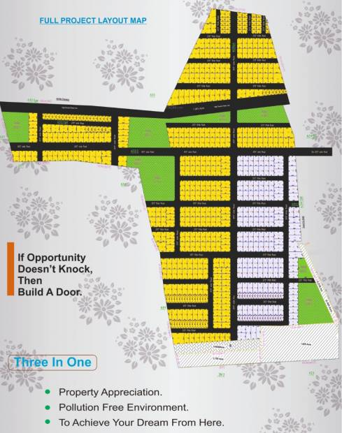 Images for Layout Plan of Greens Sai Greens City Plot