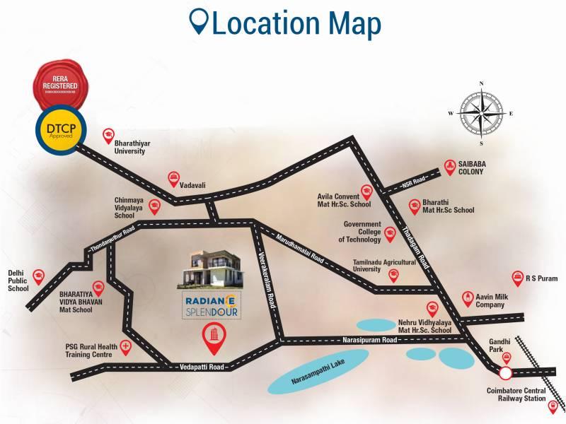 Images for Location Plan of Radiance Splendour